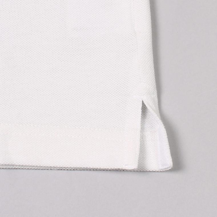 Munsingwear x FELCO (マンシングウェア x フェルコ)  S/S 60'S RAGLAN SLEEVE POLO - WHITE