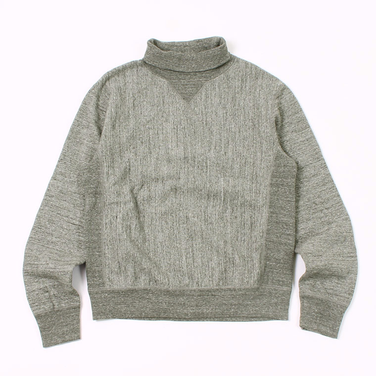 FELCO (フェルコ) 12oz TERRY TURTLE INVERSE WEAVE V GUSSET - CHARCOAL HEATHER